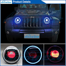 jeep wrangler blue headlights newest jeep wrangler accessories headlight with 35wcanbus ballast