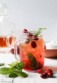 cranberry mint julep the epicurean