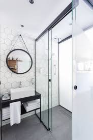 hotel bathroom design at nice large hexagon tile open 736 1104