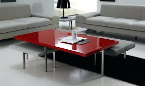 red and black coffee table modern red living room living room with red coffee table excellent