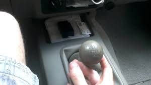nissan micra gear knob sloppy shifter 08 nissan frontier youtube
