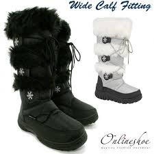 womens boots for wide wide womens winter boots mount mercy