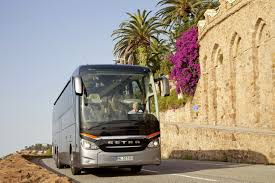 the new setra topclass 500 travelling through europe with