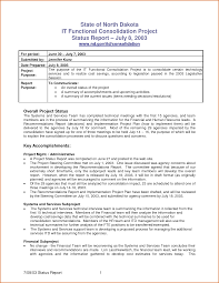 project monthly status report template project monthly report template and form sle for your