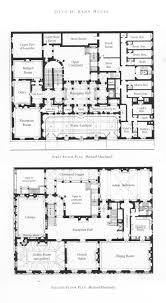 Architectural Floor Plan by Otto Kahn Mansion 1st And 2nd Floors All Sort Of Things