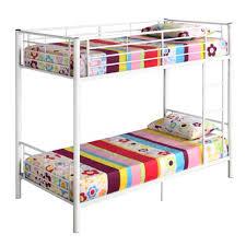 Bunk Bed Mattress Size Convertible Metal Bunk Bed Or 2 Single