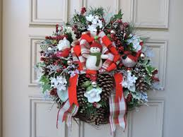 doors decorating christmas wreaths with deco mesh amazing idolza
