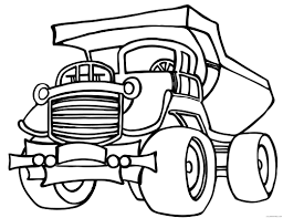 truck coloring pages garbage truck printable coloring4free