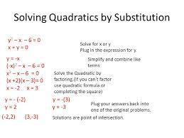 1 solving quadratics