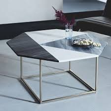 west elm marble table marquetry marble coffee table west elm