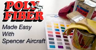 poly fiber aircraft covering products spencer aircraft