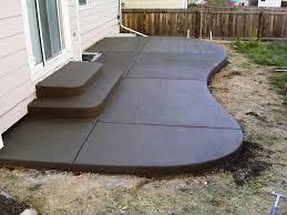 enchanting outdoor concrete patio designs for home decorating