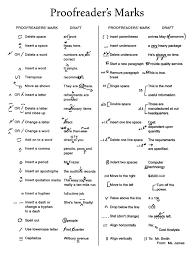 proofreading marks worksheet worksheets