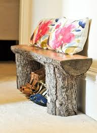 Good Wood For Outdoor Furniture by 25 Best Log Benches Ideas On Pinterest Rustic Cleavers Log
