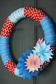 4th of july wreaths 20 minute 4th of july wreath landeelu