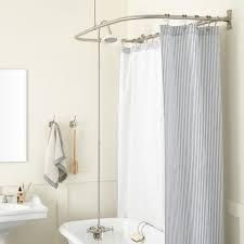 round roller ball shower curtain rings bathroom