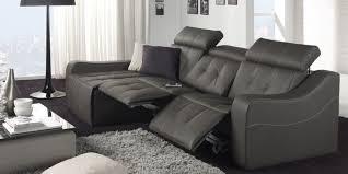 canapé electrique relax canape 3 places avec 2 relax electrique meuble et déco