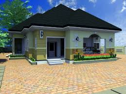 fresh 4 bedroom bungalow designs 15 milltown side elevation