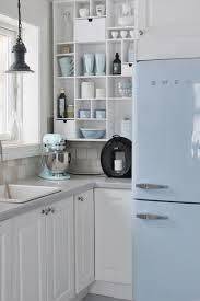 blue and white kitchen ideas mia interiors ice blue and white norwegian kitchen kitchen