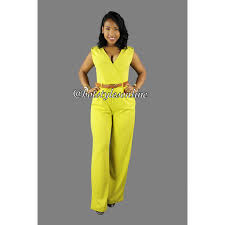 belted jumpsuit heller yellow lime green belted jumpsuit styles