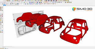 tutorial sketchup modeling to model a fiat car 500 with sketchup