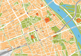 vector map warsaw illustrator map order and warsaw illustrator map