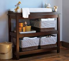 Espresso Changing Table Kendall Classic Changing Table Pottery Barn