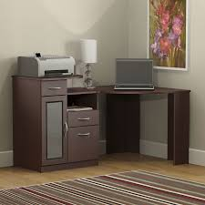 office magnificent modern white l shaped desk with bookshelves