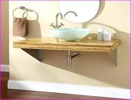 wall mount vessel sink vanity wall mount vessel sink image of wall mounted bathroom vanity photo