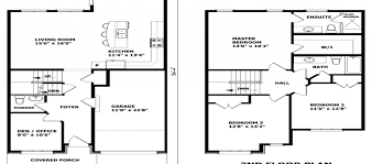 Single Storey Floor Plans Floor Plans For A Two Story House Home Design Inspirations