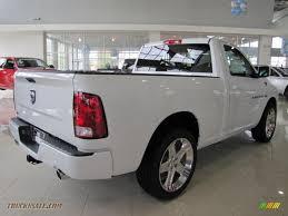 Dodge Ram White - 2011 dodge ram 1500 sport r t regular cab in bright white photo 3