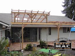 Attaching Pergola To House pergola construction contractor talk