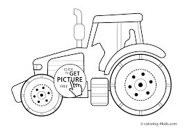 tractor transport coloring pages for kids printable coloing