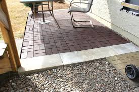 How To Build A Patio With Pavers by How To Build Round Paver Brick Patio Lay Two Color Clinker