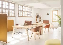 bureau poste de travail bureau poste de travail en bois en cuir contemporain heldu
