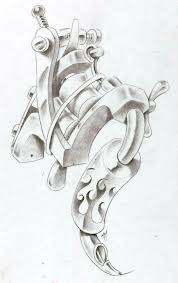 tattoo gun sketch tattoo machine by markfellows on deviantart leannaparks