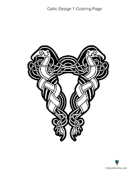 celtic and tattoo coloring pages kidscanhavefun blog
