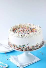 Christmas Cake Decorations Sprinkles by Best Birthday Cake Recipe U2014 With Sprinkles U2026 Pinteres U2026