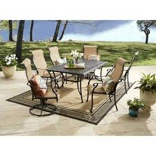 Patio Dining Sets Walmart Better Homes And Gardens Southgate Drive 7 Aluminum Sling