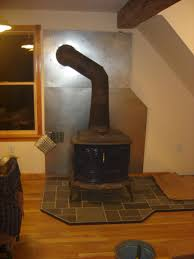 Kitchen Cabinet Heat Shield by Post Up Pics Of Your Homemade Heat Shields Hearth Com Forums