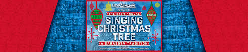 singing christmas tree first sarasota brushfire