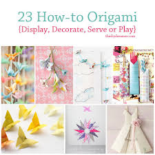 Room Decorating Ideas With Paper 23 Tutorials On How To Origami The D I Y Dreamer