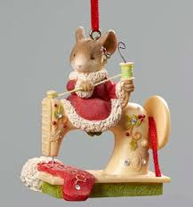 Christmas Mice Decorations Heart Of Christmas Ornaments By Karen Hahn For Enesco At