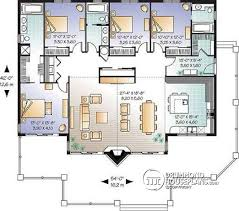 house with 2 master bedrooms house plan w3942 detail from drummondhouseplans