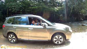 subaru malaysia subaru forester 2016 2 0i p off road river stream test drive