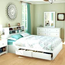 Platform Bed With Storage Underneath Size Bed With Storage Bikepool Co