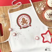 children u0027s no sew christmas apron