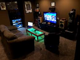 bedroom marvelous video game room interior design and decoration