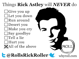 Rick Rolled Meme - rick astley returns with new album 50 interview ocean 98 5