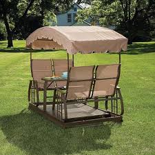 Swing Bed With Canopy Outdoor Glider With Canopy Schwep